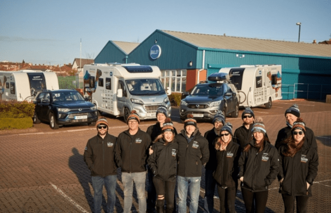 "Team for the ""Sahara Challenge"""