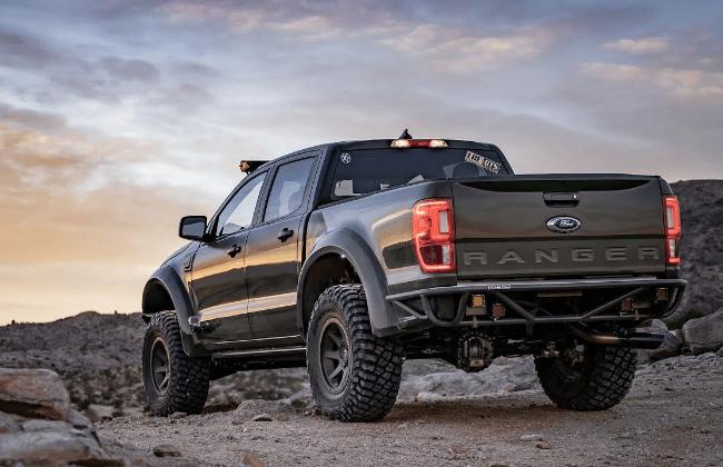 Gray 2019 Ford Ranger