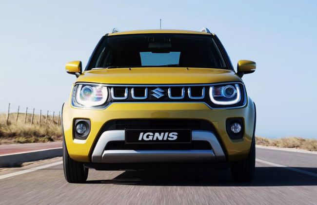 The Newest 2020 Suzuki Ignis Gets a Facelift
