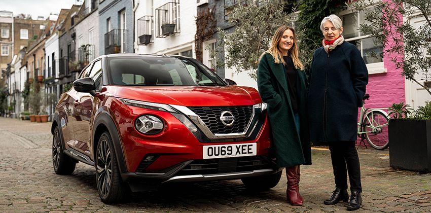 Women Nissan Juke