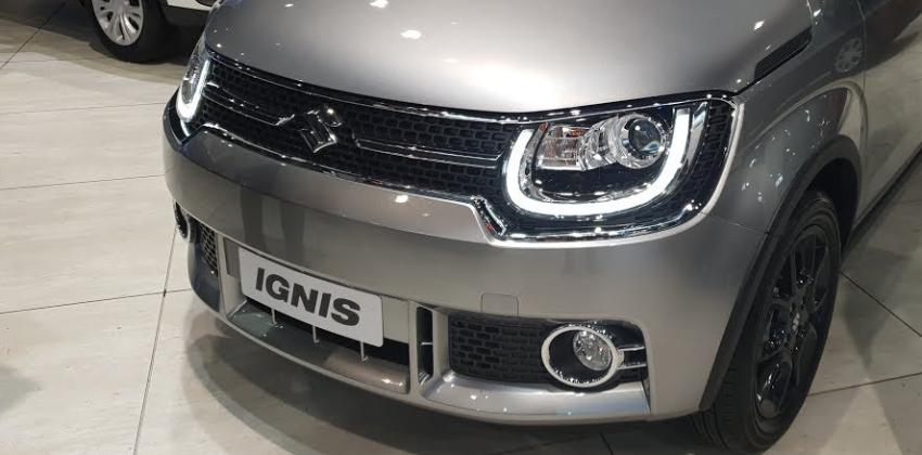 Silver Suzuki Ignis