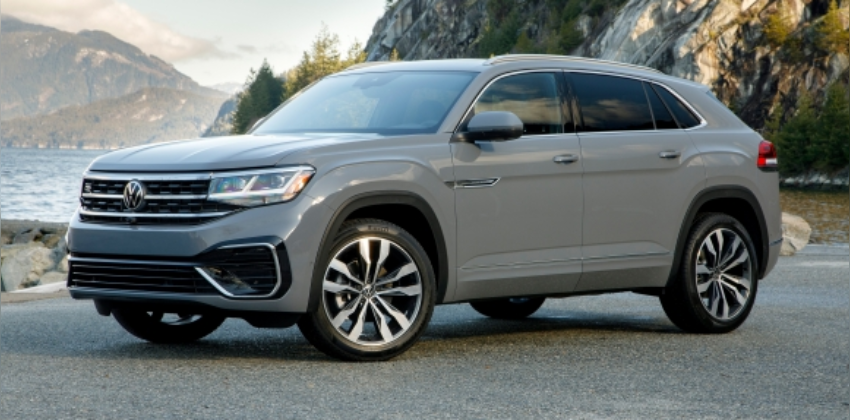 Volkswagen Atlas Cross Sport, silver